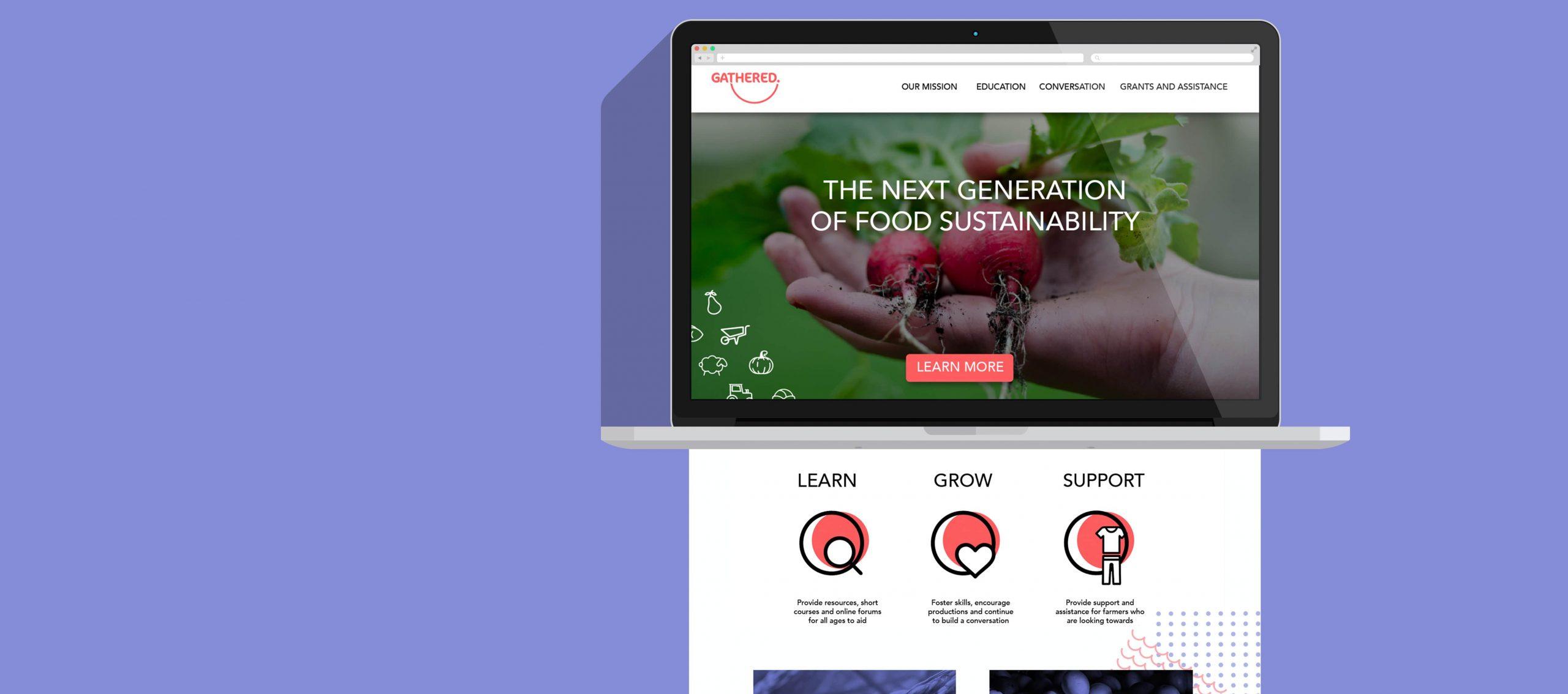 Gathered Website Landing Page