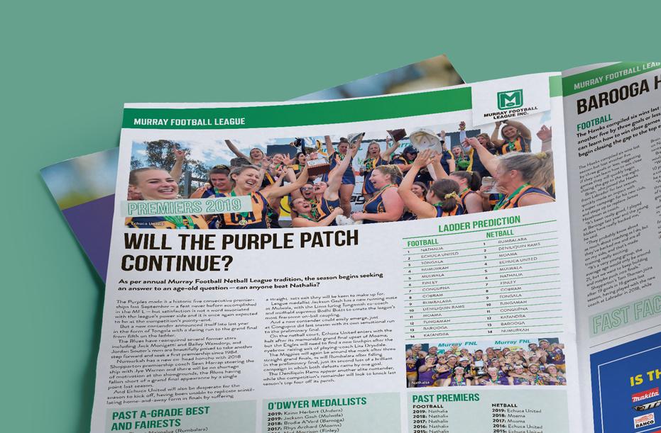 Cover image for Football Netball Magazine