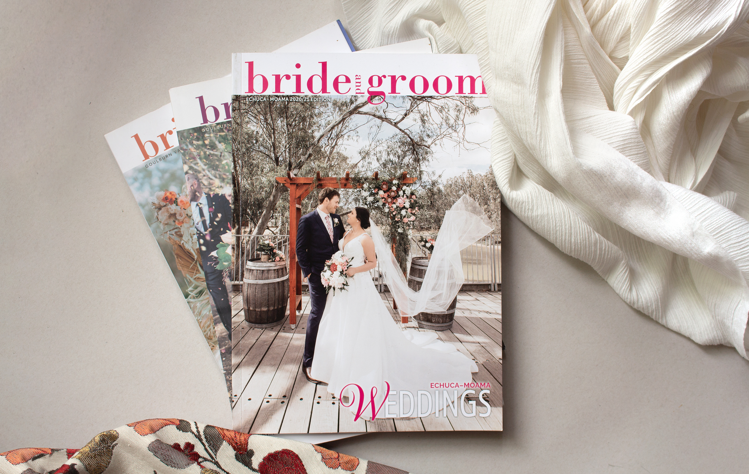 Bride and Groom Magazine cover