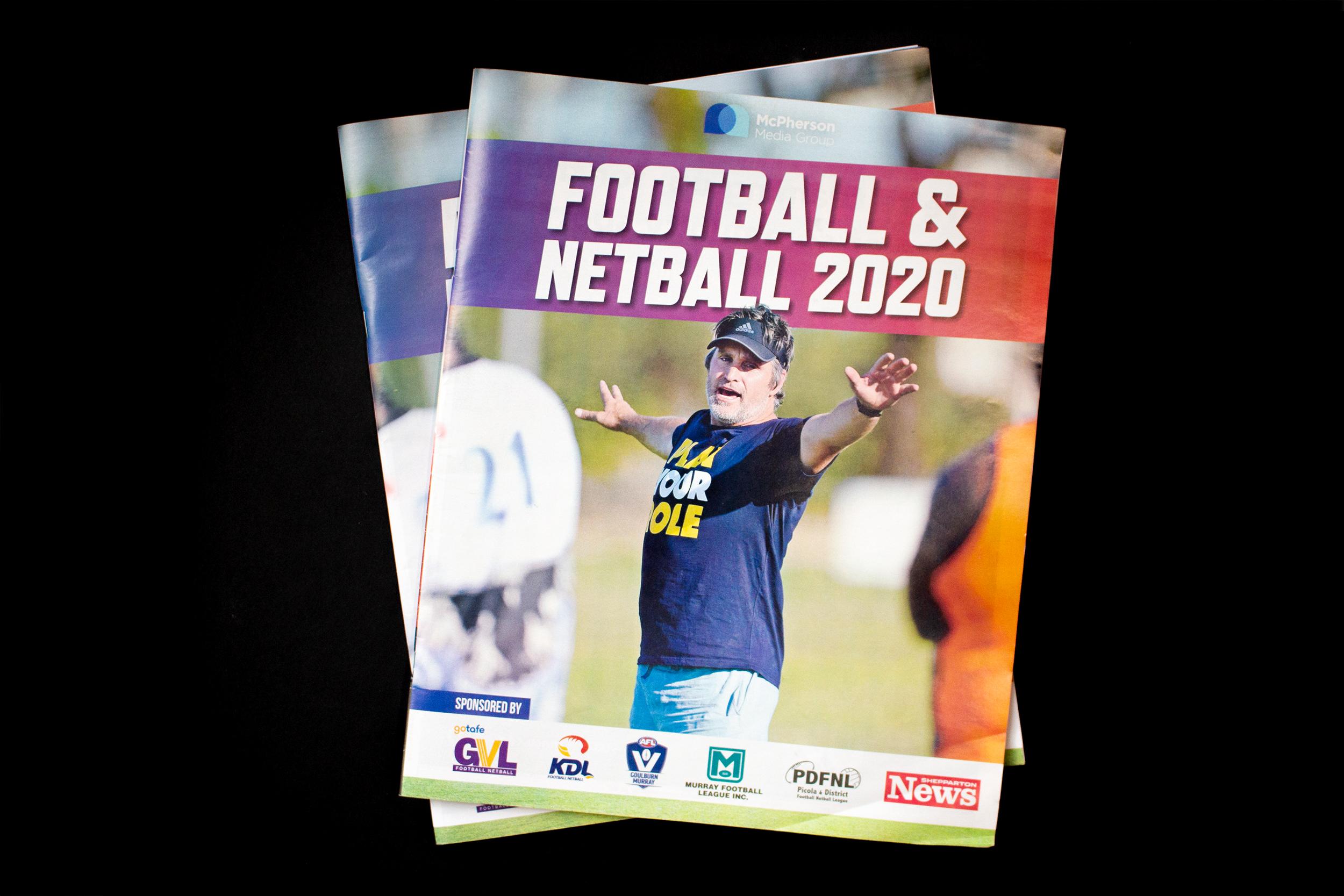 Football Netball Cover